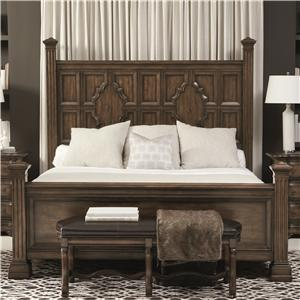 Bernhardt Montebella California King Panel Bed
