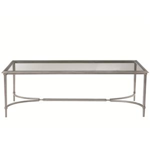 Bernhardt Newland Metal Cocktail Table