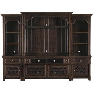 Bernhardt Pacific Canyon Entertainment Unit with Piers