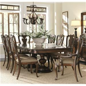 Bernhardt Ravello 9 Piece Dining Set