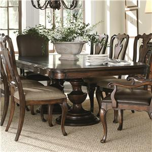 Bernhardt Ravello Double Pedestal Dining Table