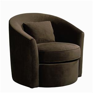 Bernhardt Upholstered Accents Thomas Swivel Chair