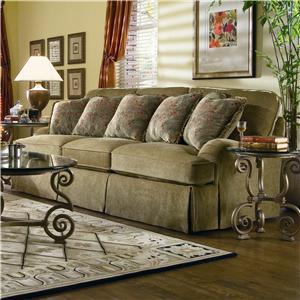Bernhardt Upholstered Accents Crusoe Stationary Sofa