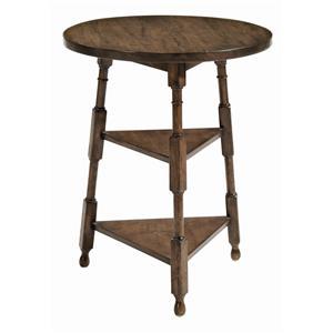 Bernhardt Vintage Patina Round Chairside Table