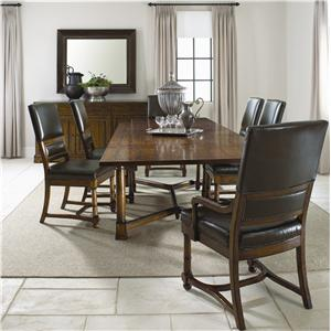 Bernhardt Vintage Patina 7-Piece Dining Set