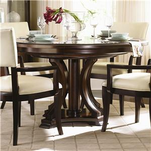 Bernhardt Westwood Round Pedestal Dining Table