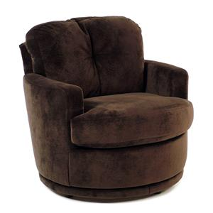 Best Home Furnishings Chairs Swivel Barrel Swivel Chair