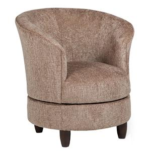 Best Home Furnishings Chairs - Accent Swivel Barrel Chair