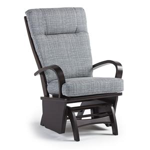 Best Home Furnishings Glider Rockers Dominique Glide Rocker