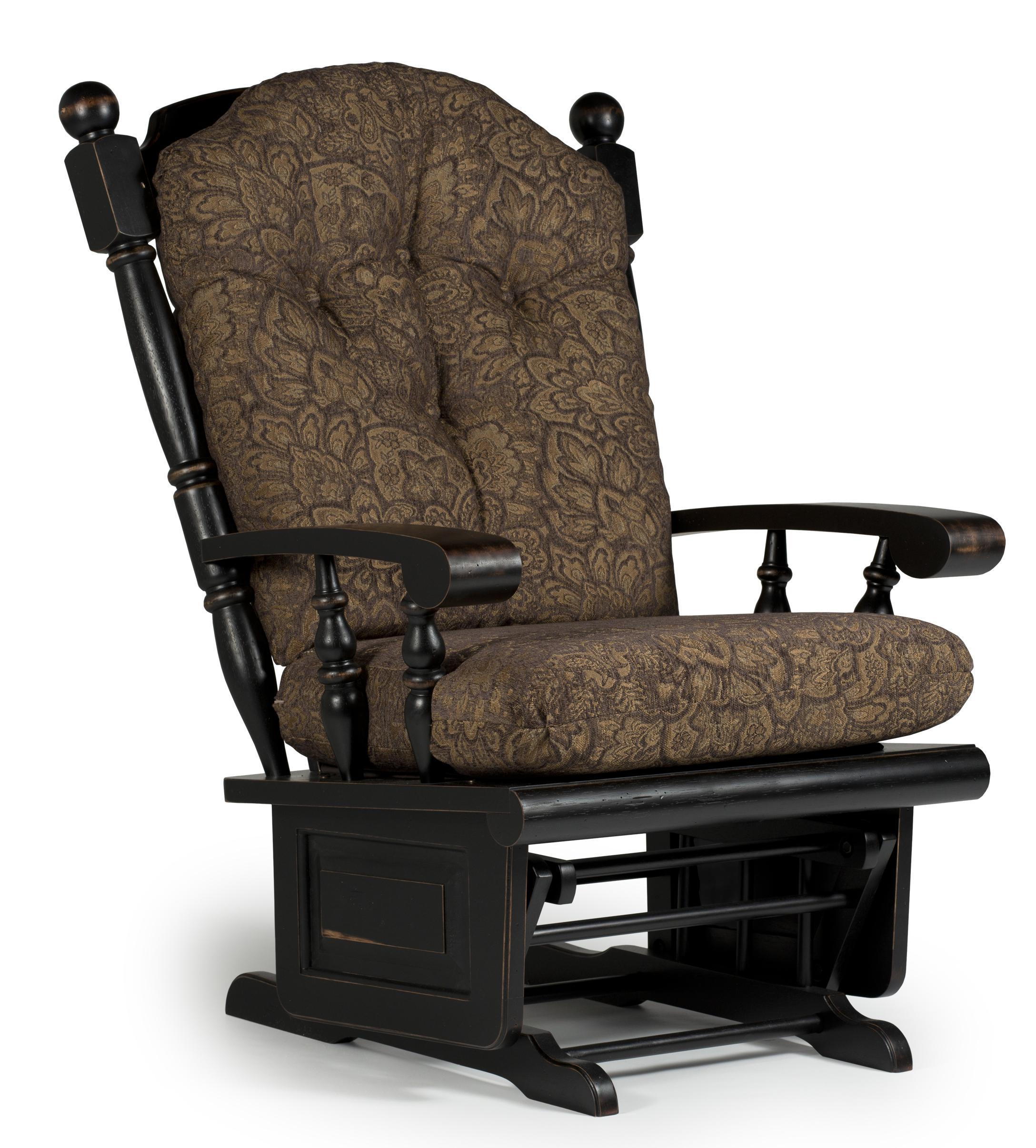 Lockable Bedroom Furniture Delling Glider Rocker With Lockable Mechanism By Best Home