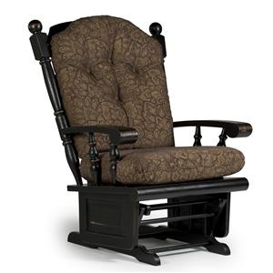 Best Home Furnishings Glider Rockers Lock Glider Rocker