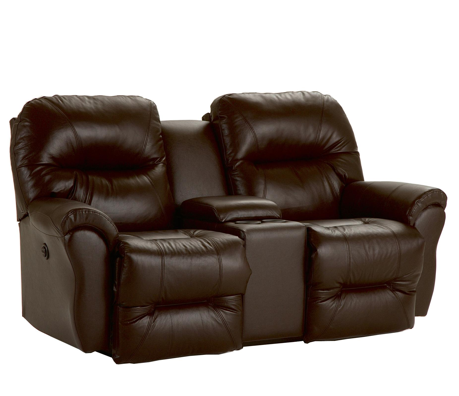Rocking Reclining Loveseat With Storage Console By Best Home Furnishings Wolf And Gardiner