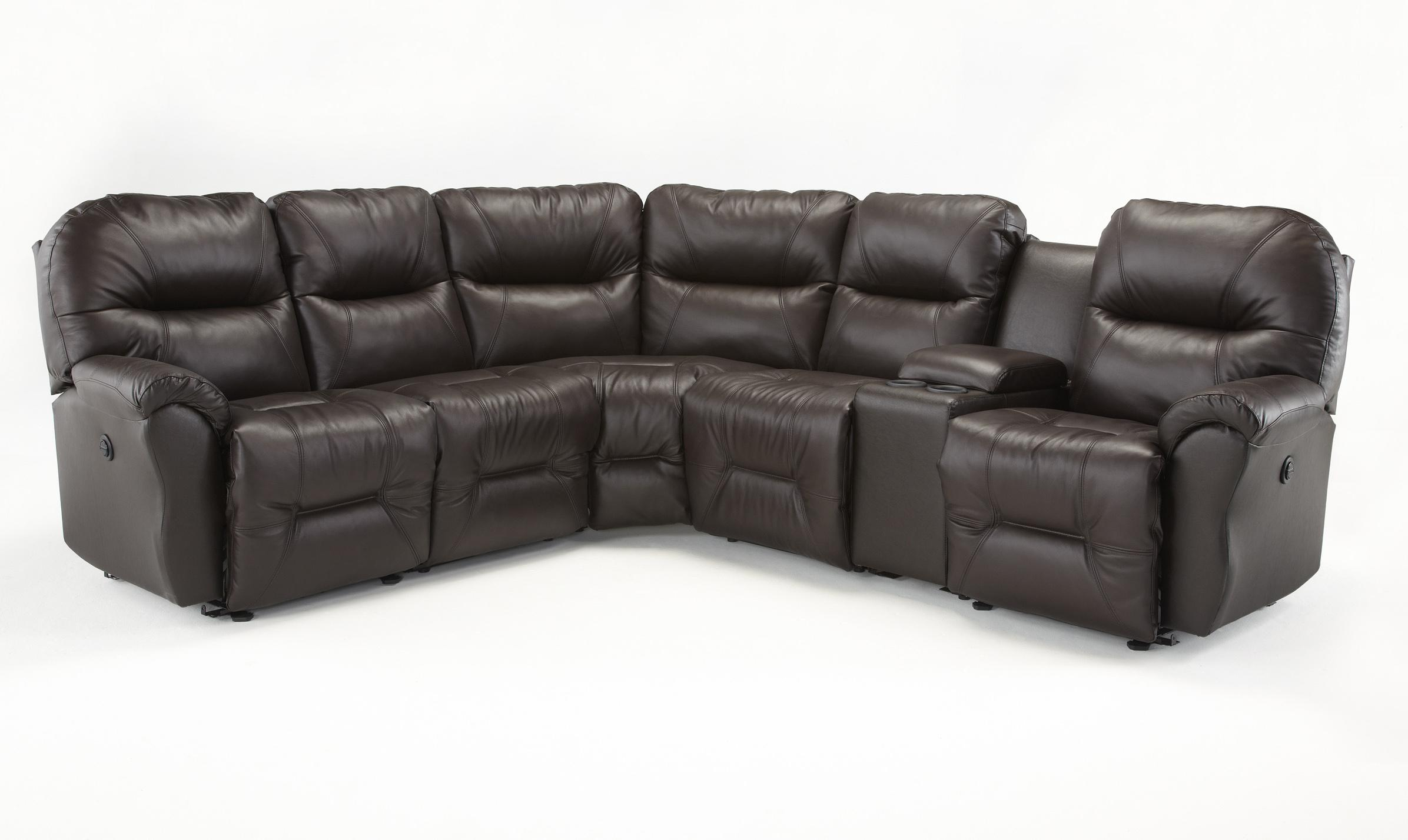 Six Piece Reclining Sectional Sofa by Best Home Furnishings
