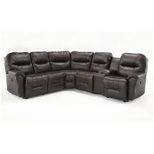 Best Home Furnishings Bodie 6 Pc Power Reclining Sectional Sofa