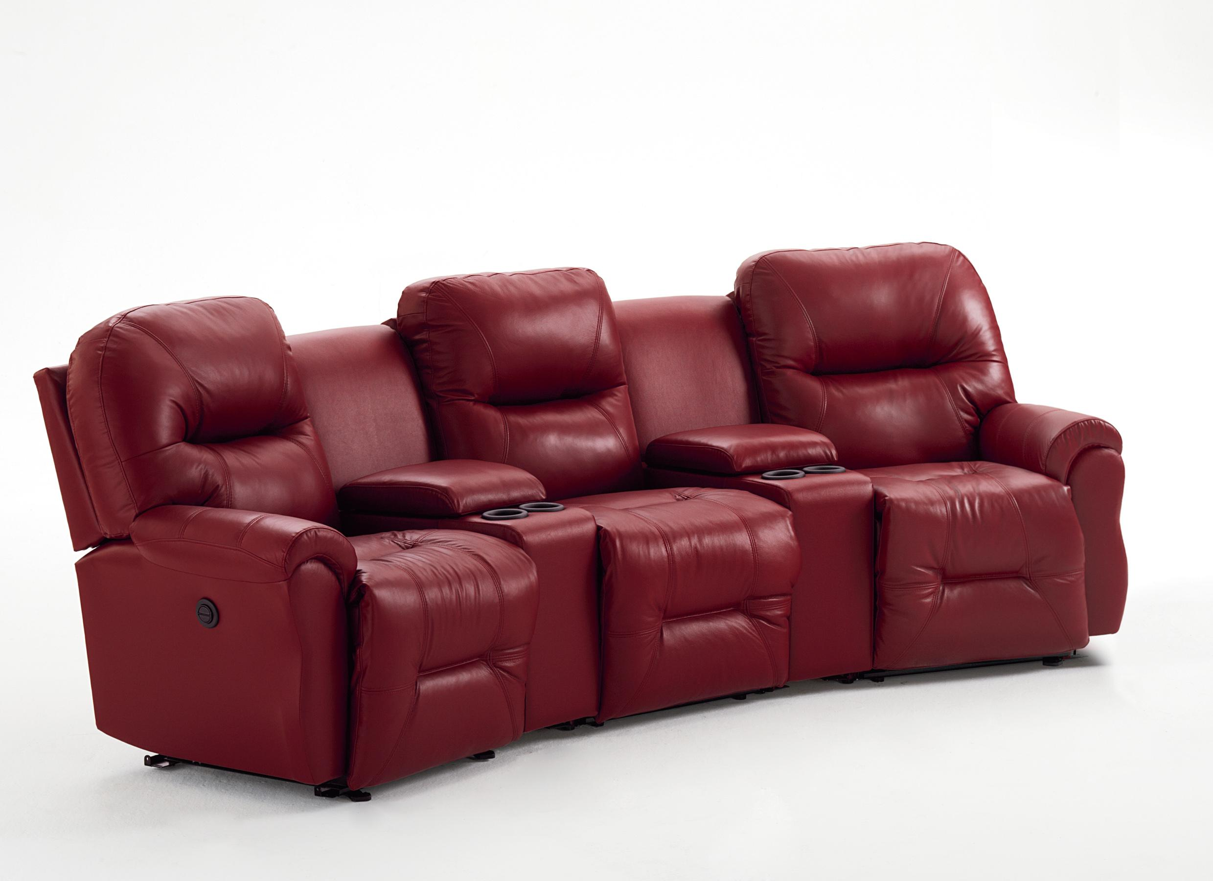 3 Seater Power Reclining Home Theater Group