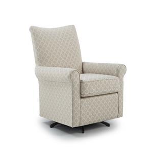 Best Home Furnishings Chairs - Club Swivel Chair