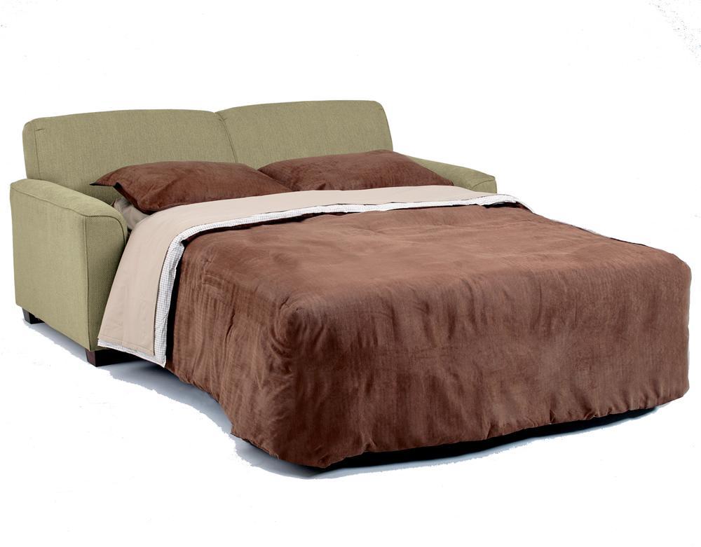 Contemporary Full Sofa Sleeper With Air Dream Mattress By