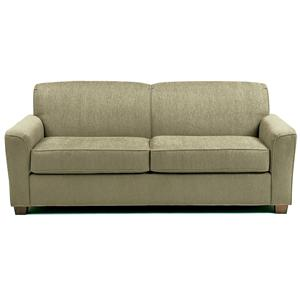 Best Home Furnishings Dinah Queen Sofa Sleeper w/ Air Dream Mattress