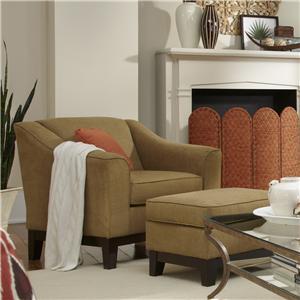 Best Home Furnishings Emeline Custom Chair & Ottoman