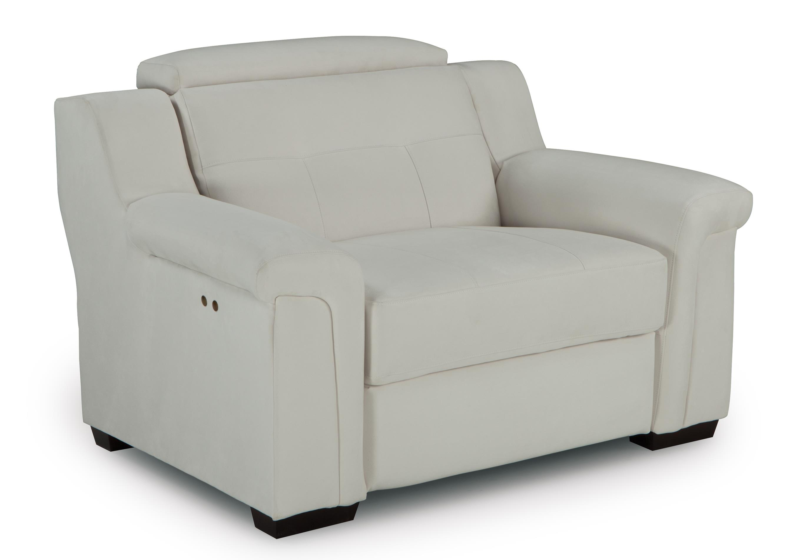 Oversized Power High Leg Recliner with Adjustable Headrest  sc 1 st  Wolf Furniture & Oversized Power High Leg Recliner with Adjustable Headrest by Best ... islam-shia.org