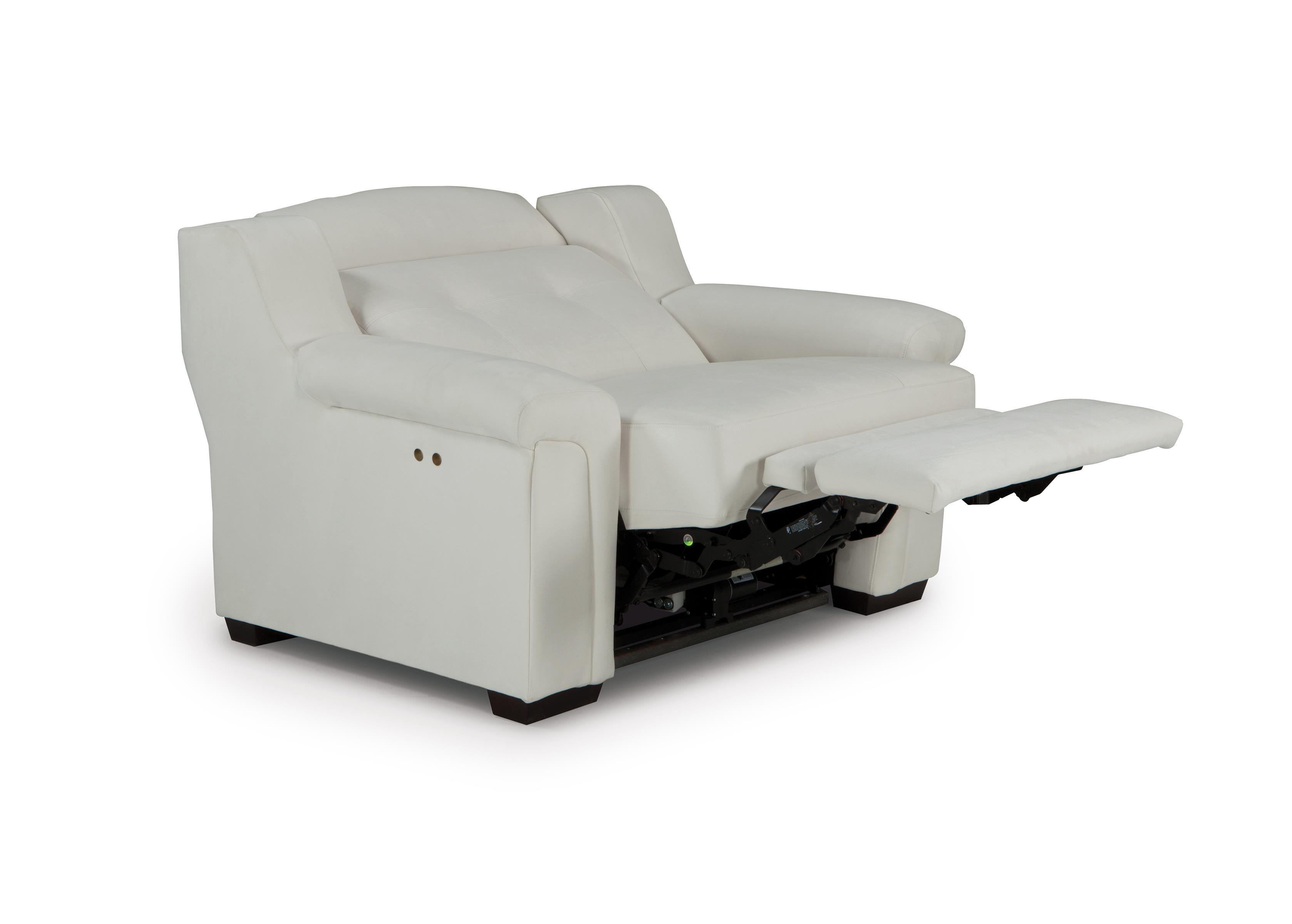 oversized power high leg recliner with adjustable headrest