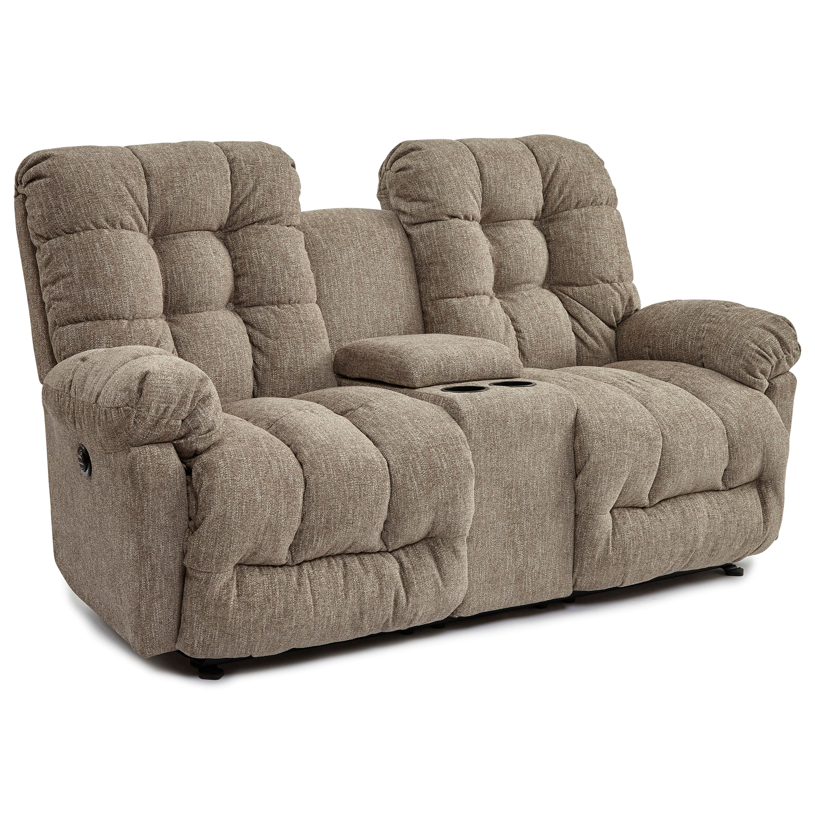 Fantastic Power Space Saver Reclining Loveseat With Storage Console By Beatyapartments Chair Design Images Beatyapartmentscom