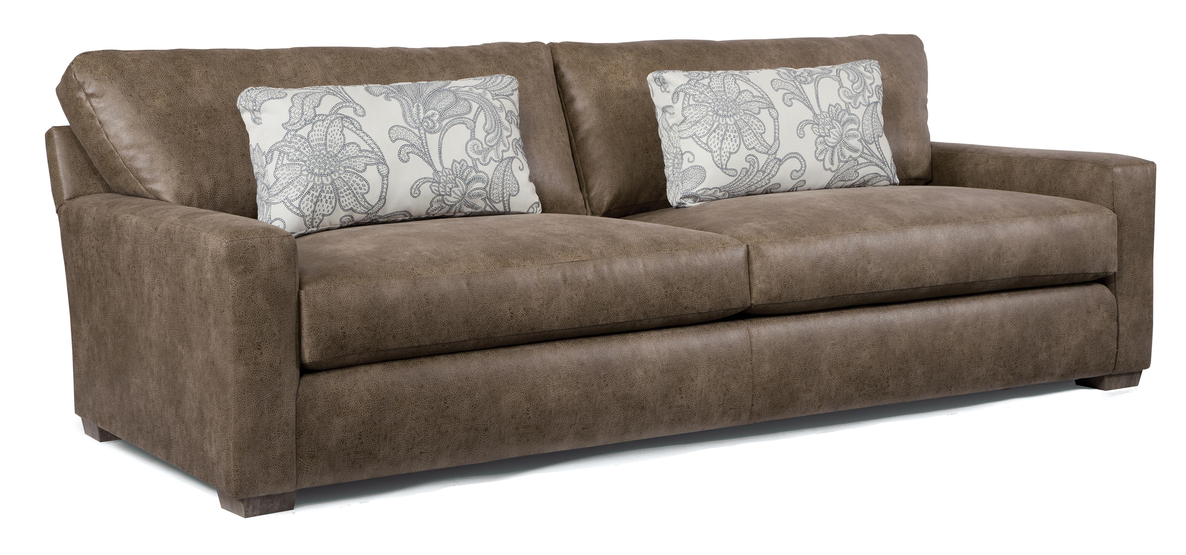 Contemporary Sofa with Deep Seats by Best Home Furnishings