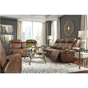 Vendor 411 Hardisty Reclining Living Room Group