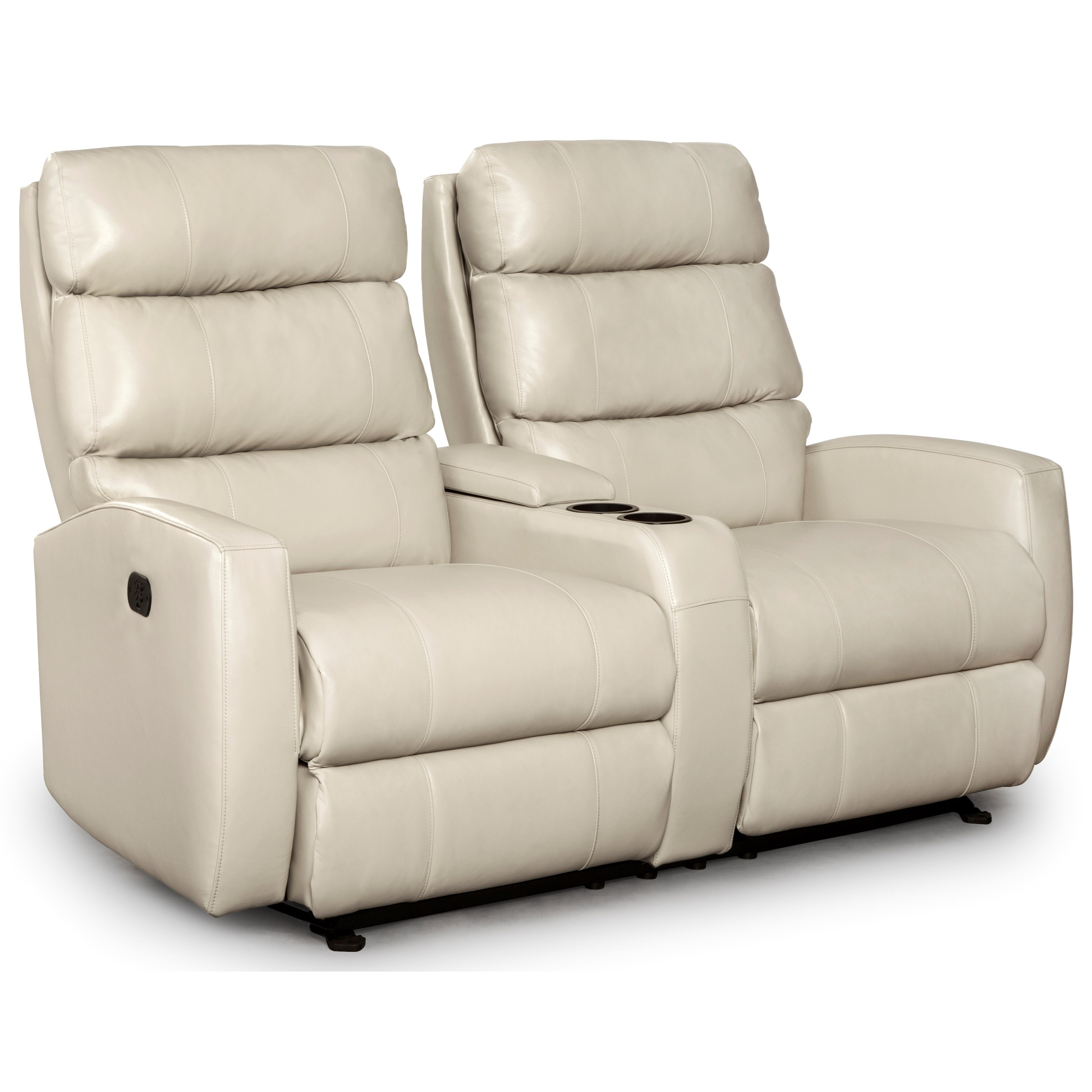 Groovy Power Rocking Reclining Console Loveseat With Power Tilt Onthecornerstone Fun Painted Chair Ideas Images Onthecornerstoneorg
