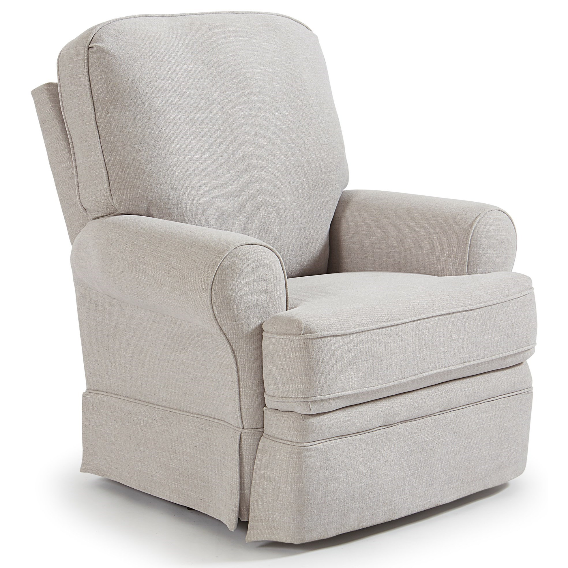 Skirted Power Swivel Glider Recliner By Best Home