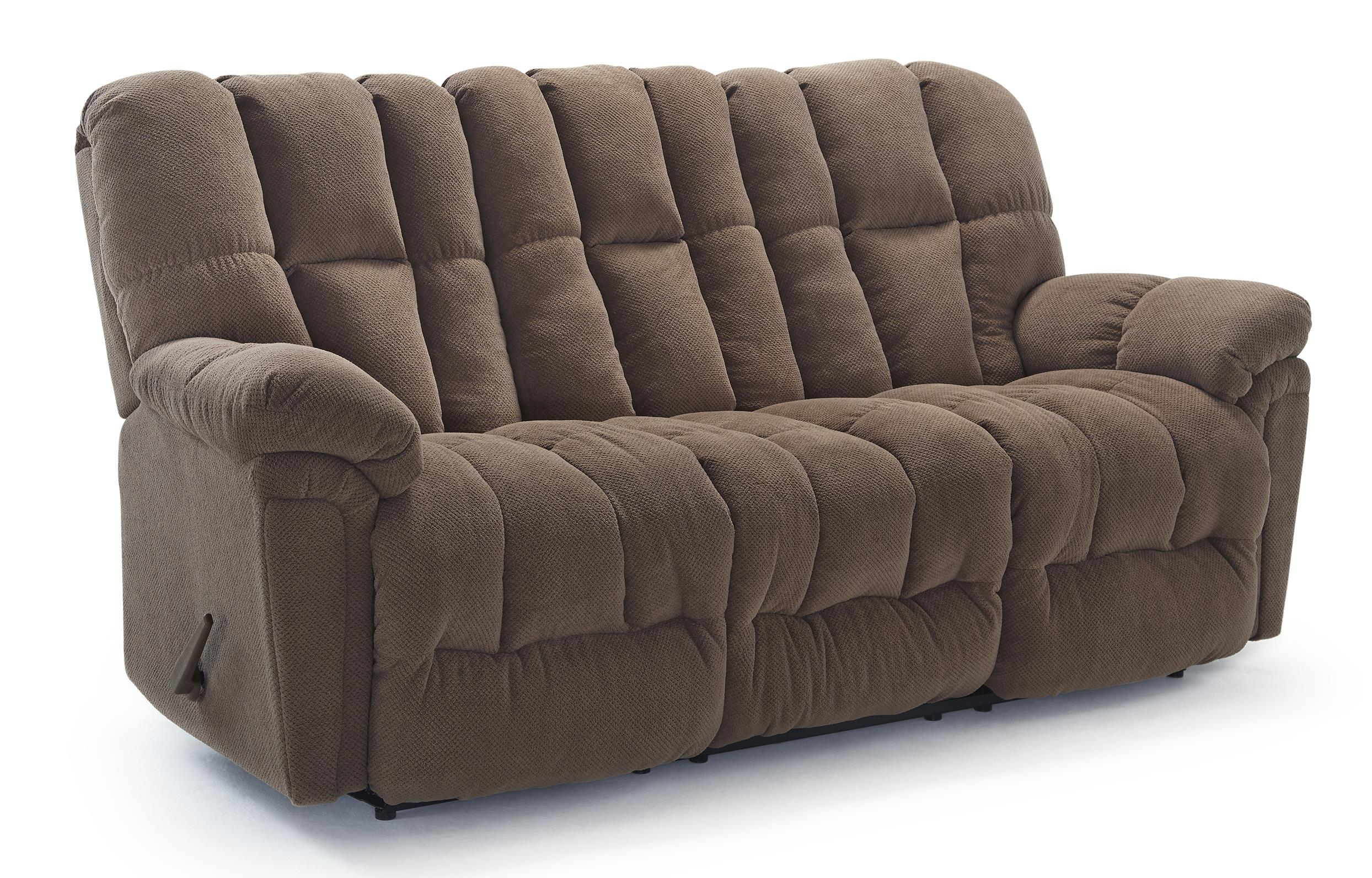 Casual Plush Power Reclining Sofa With Full Coverage Chaise Legrest