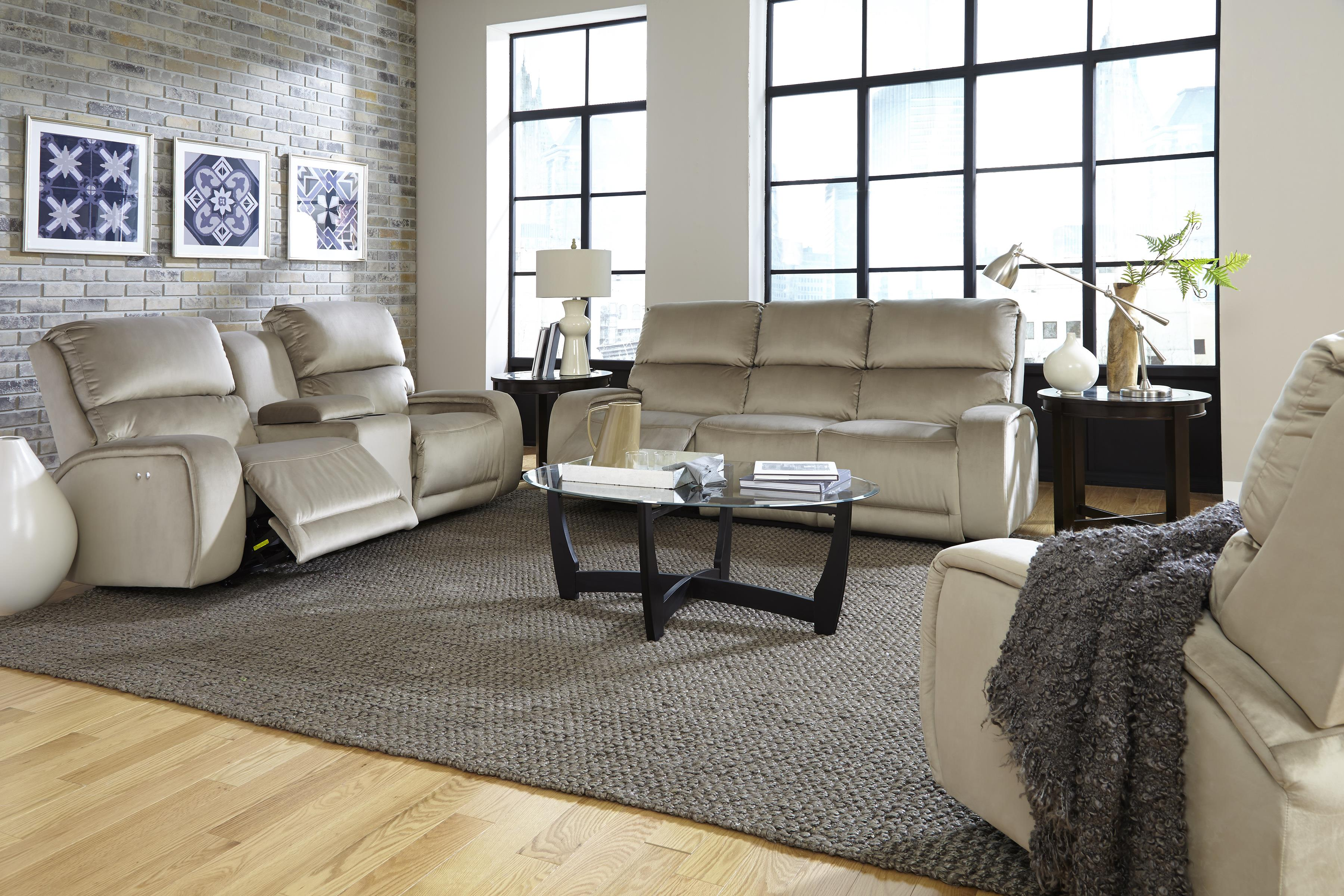 Reclining Sofa with Memory Foam Cushion by Best Home Furnishings