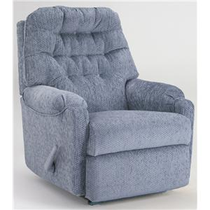 Best Home Furnishings Recliners - Medium Swivel Rocker Recliner