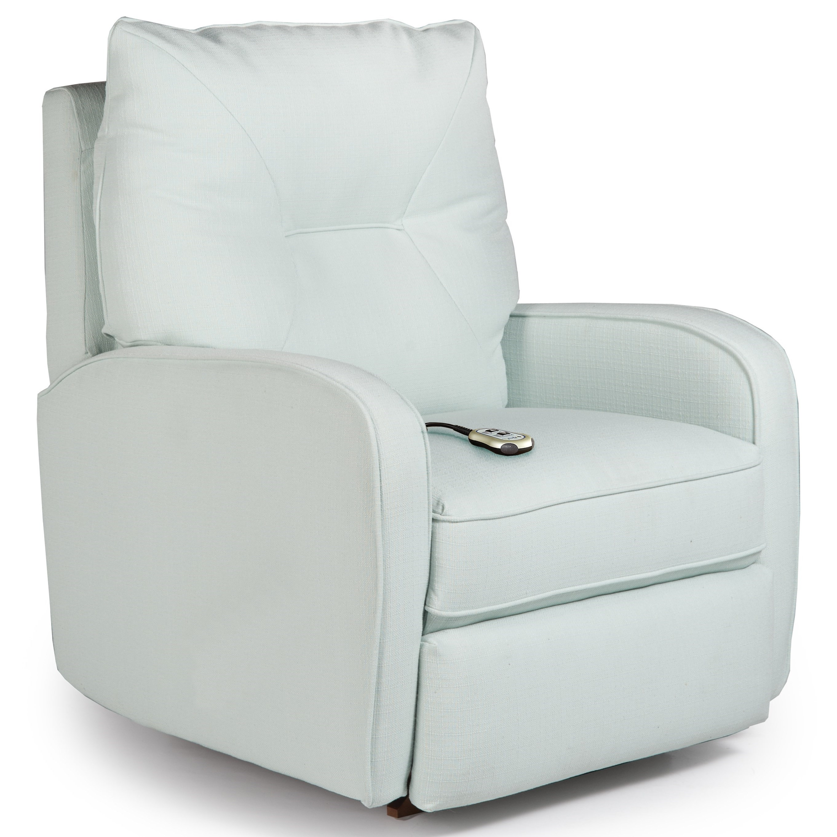 Contemporary Ingall Power Lift Recliner in Sleek Modern Style by