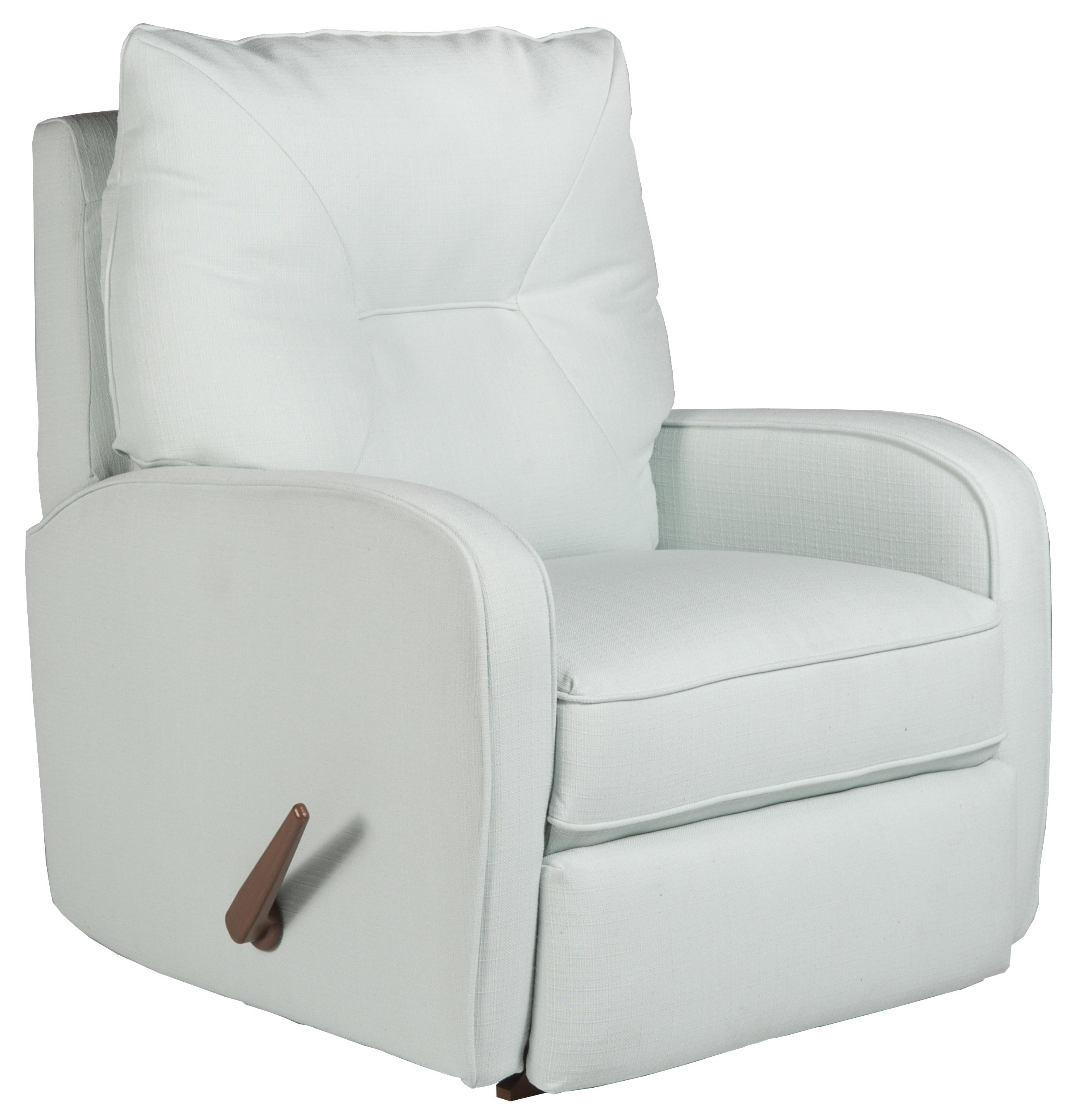 Attrayant Contemporary Ingall Swivel Rocker Recliner In Sleek Modern Style
