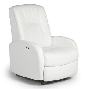 Best Home Furnishings Recliners - Medium Ruddick Swivel Rocker Recliner