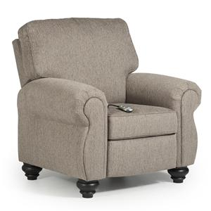 Best Home Furnishings Recliners - Medium Bluffton Power High Leg Recliner