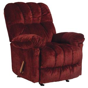 Best Home Furnishings Recliners - Medium McGinnis Swivel Glider