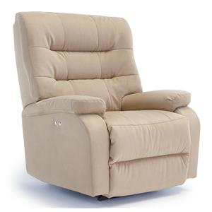 Best Home Furnishings Recliners - Medium Liam Swivel Rocker Recliner