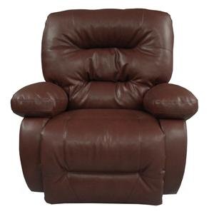 Best Home Furnishings Recliners - Medium Leather Rocker Recliner
