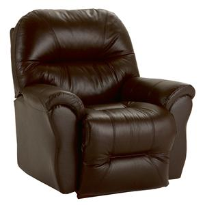 Best Home Furnishings Recliners - Medium Bodie Swivel Rocker Recliner