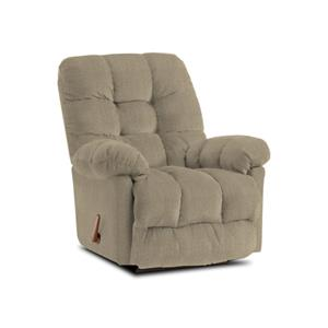 Best Home Furnishings Recliners - Medium Platinum Rocker Recliner Chair