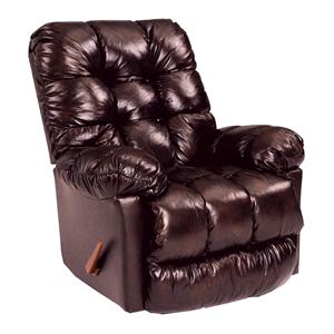 Best Home Furnishings Recliners - Medium Brosmer Swiv Gldr Recliner w/ Massage and Ht