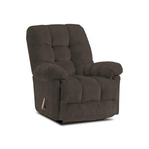 Best Home Furnishings Recliners - Medium Cocoa Rocker Recliner Chair