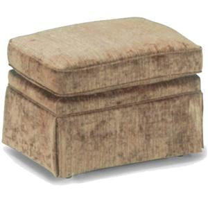 Best Home Furnishings Ottomans Rounded Cushioned Ottoman