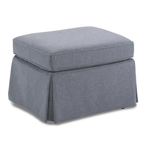 Best Home Furnishings Ottomans Skirted Glider Ottoman