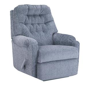Best Home Furnishings Recliners - Petite Sondra Swivel Rocker Recliner