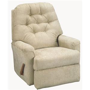 Best Home Furnishings Recliners - Petite Cara Rocker Recliner