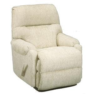 Best Home Furnishings Recliners - Petite Cannes Swivel Rocker Recliner