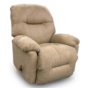 Best Home Furnishings Recliners - Petite Wynette Swivel Glider Recliner
